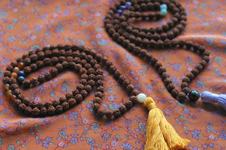 Chant malas mala beads