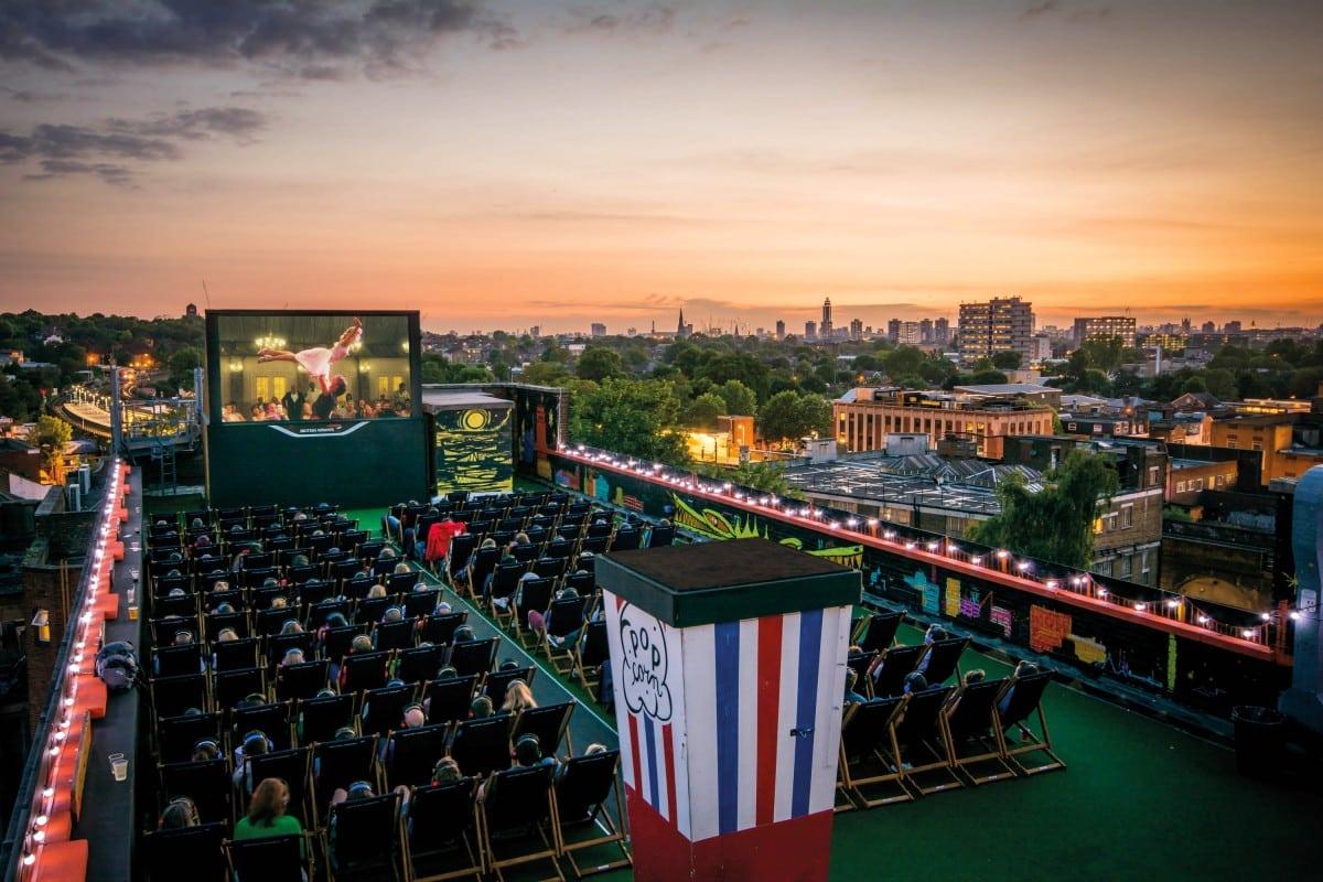 outdoor cinema screens london