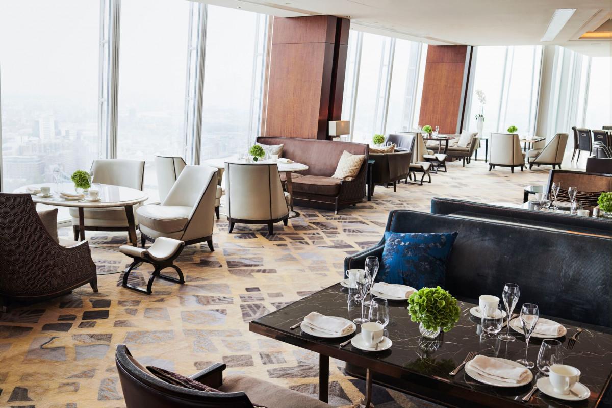 TING restaurant The Shangri-LA the Shard
