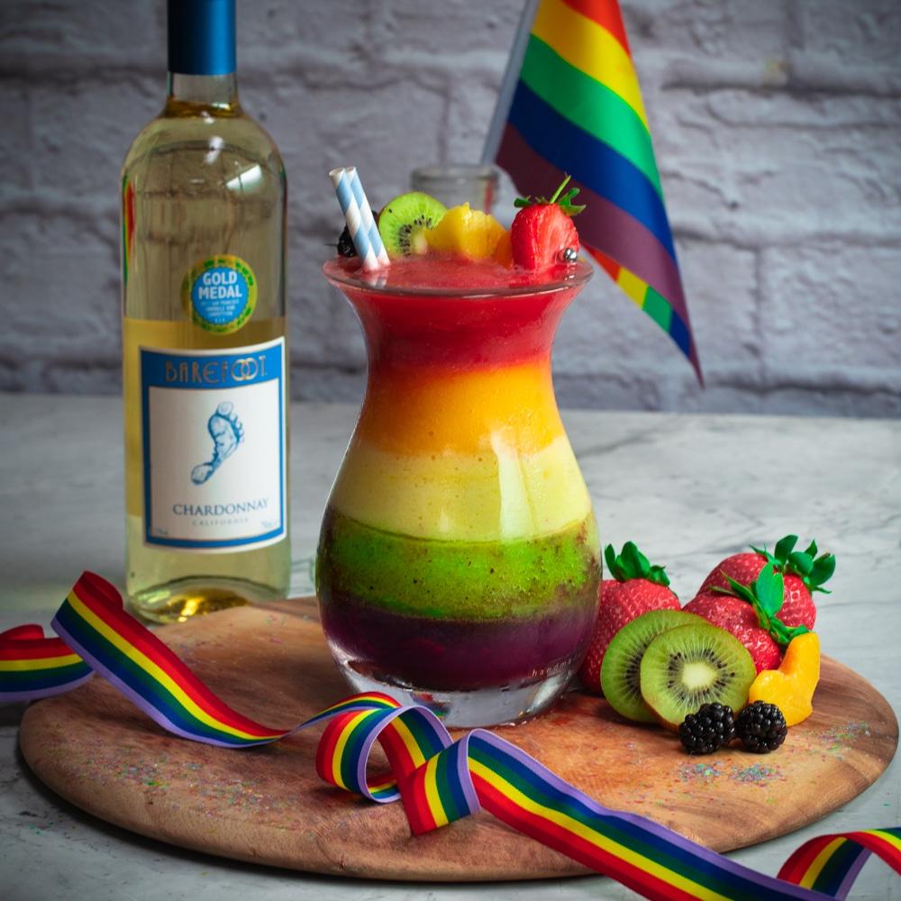 Barefoot wine sip of pride cocktail